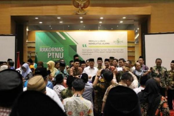 STEIKASSI Delegasikan Ketua LEK dan LPMK ikuti Rakornas PTNU di Bandung